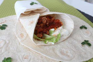 Tortillas Med Kødsauce