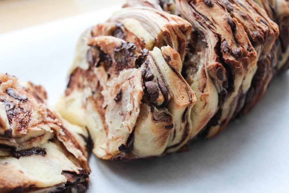 Chokolade Pull-Apart Brød