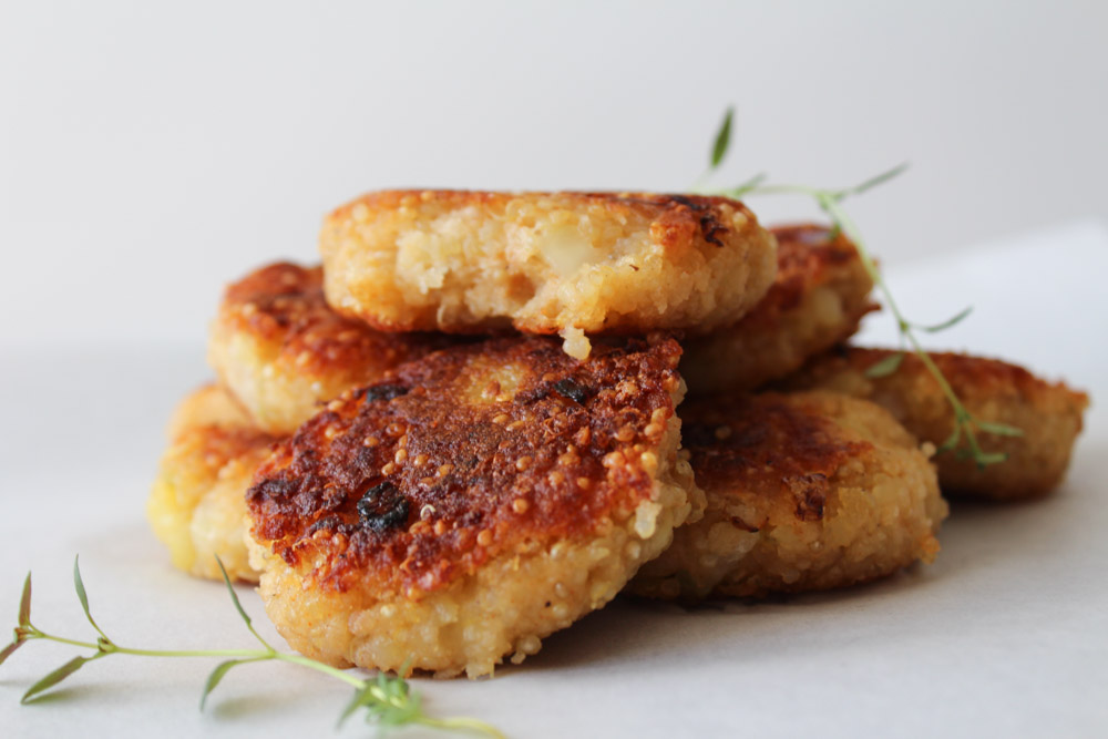 Quinoa And Potato Cakes