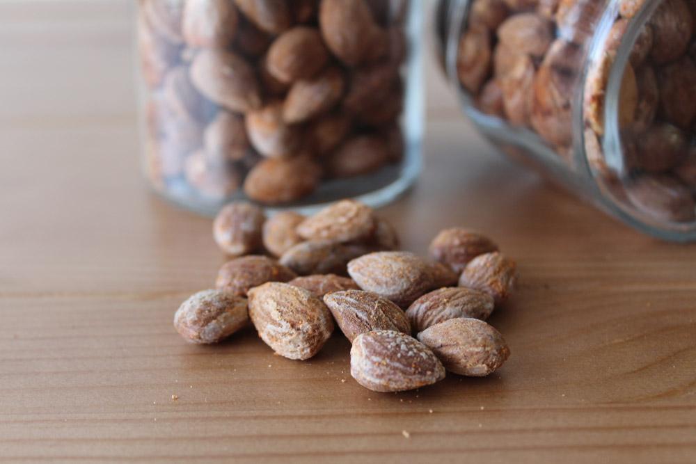 Salt Roasted Almonds With Paprika