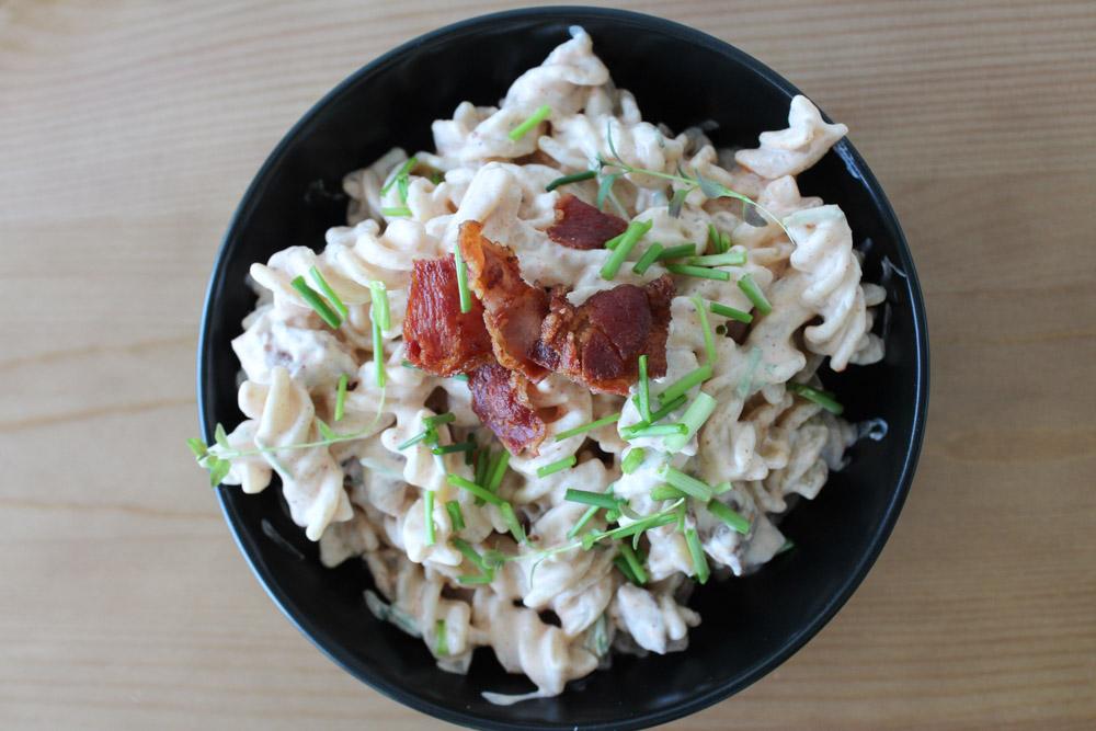 Pastasalat Med Bacon