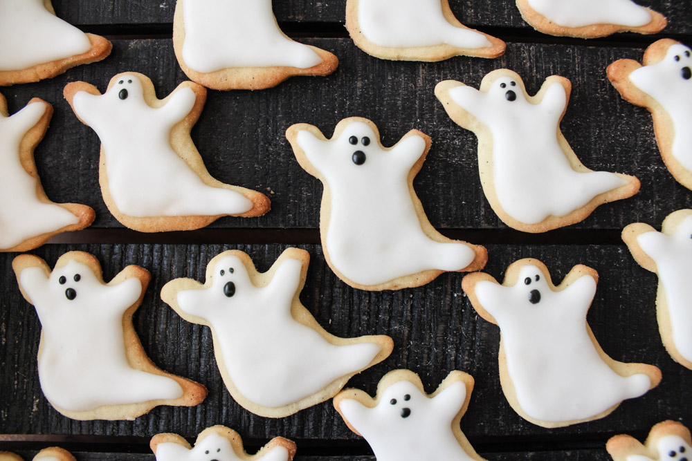 Spøgelses Småkager Til Halloween