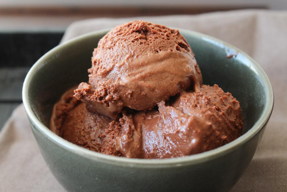 Chokolade Frossen Yoghurt – Chokolade Yoghurtis
