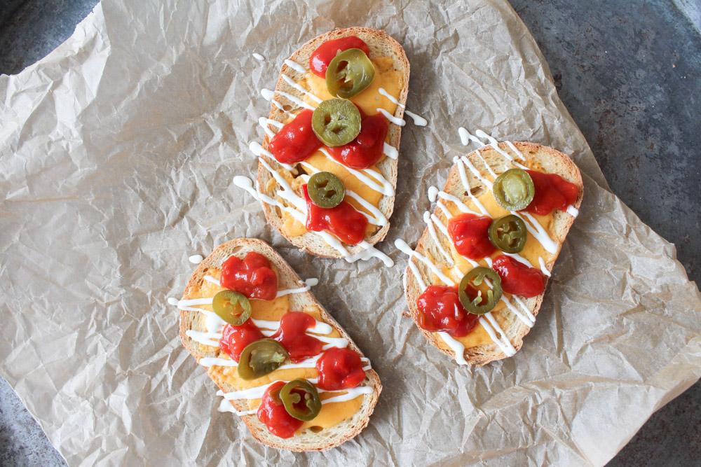 Nacho Inspireret Brød Snacks