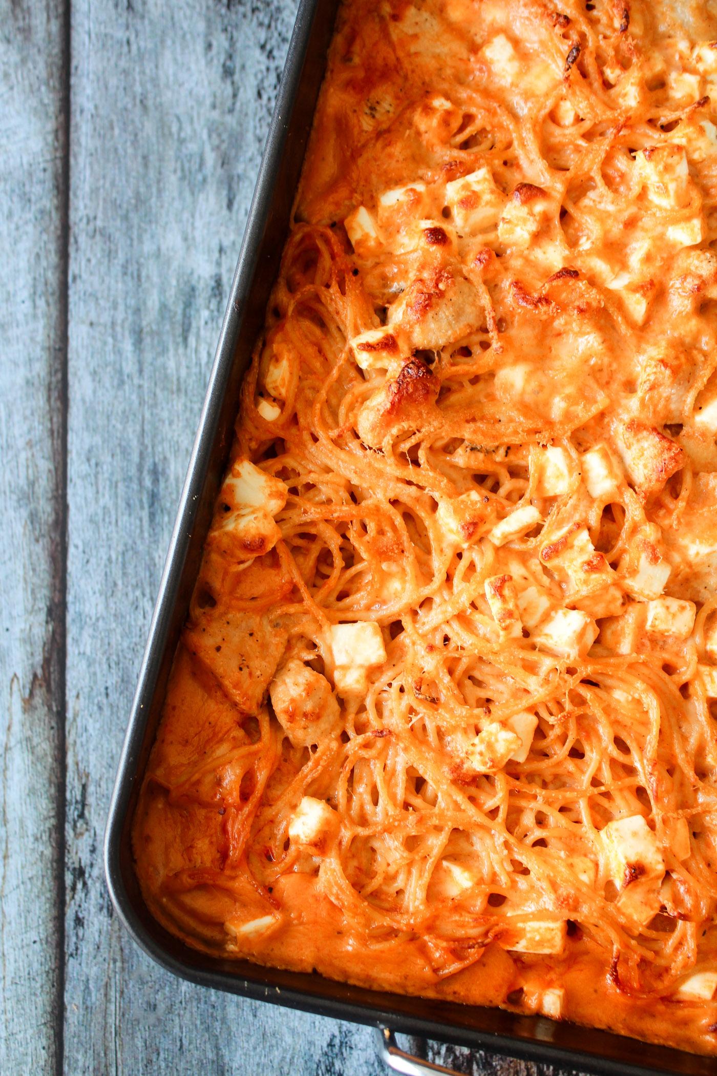 Spaghettifad Med Feta