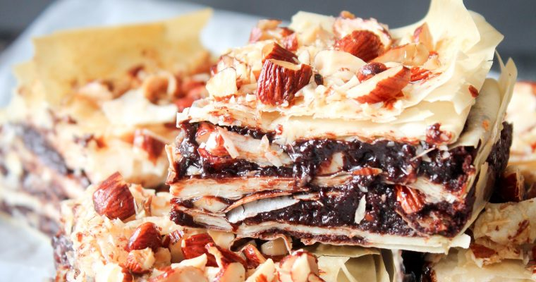 Baklava Inspireret Brownies