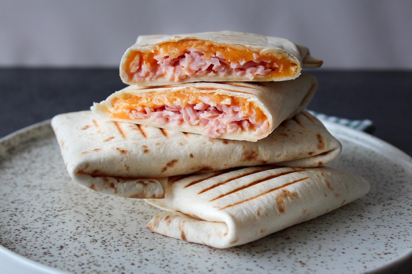 Wraps Med Ost, Skinke og Chili Mayo