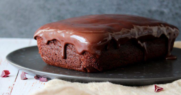 Chokolade Banankage Med Baileysglasur