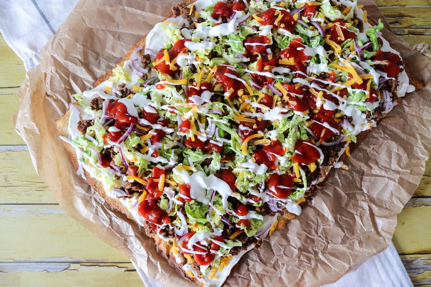 Sprød Tacopizza