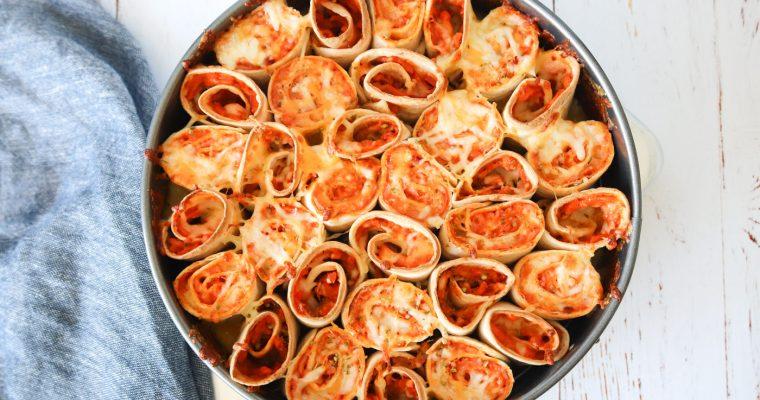 Pizza Taquitos Bake – Tortillas Rullet Med Cremet Pizzafyld