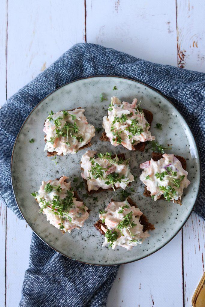 Sund Tunsalat - God I sandwiches, Tortillas Og På Rugbrød