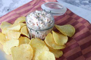 Loaded Dip Med Bacon, Ost Og Purløg - Lækker Dip Til Chips