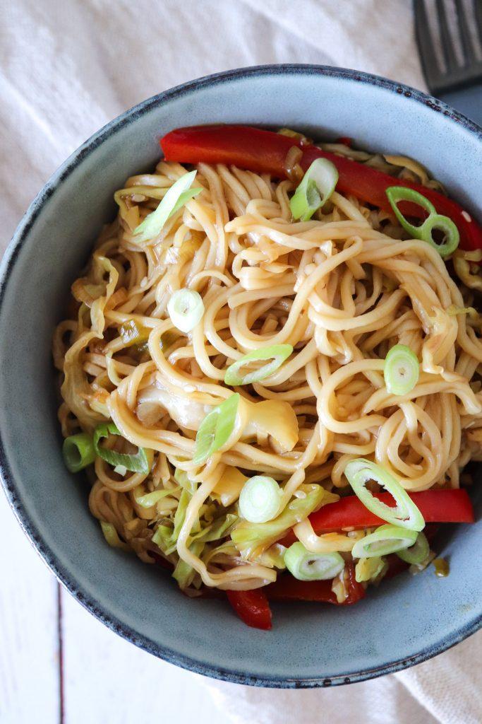Chow Mein - Stegte Nudler