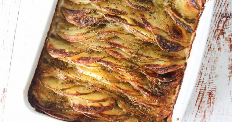Flødekartofler – Lækre Flødekartofler Med Sprød Top