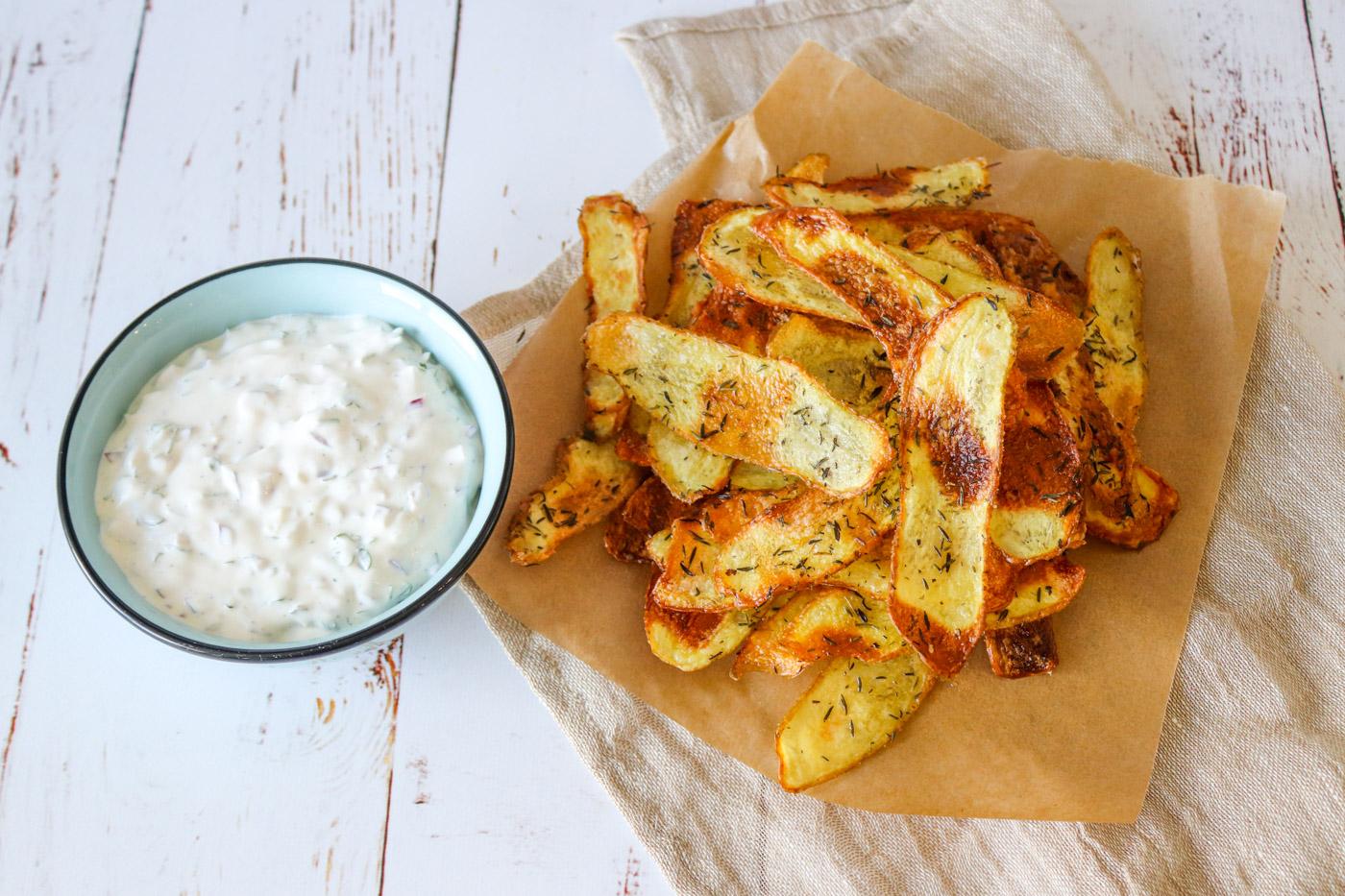 Hjemmelavet Chips I Ovnen – Sprøde Ovnbagte Chips