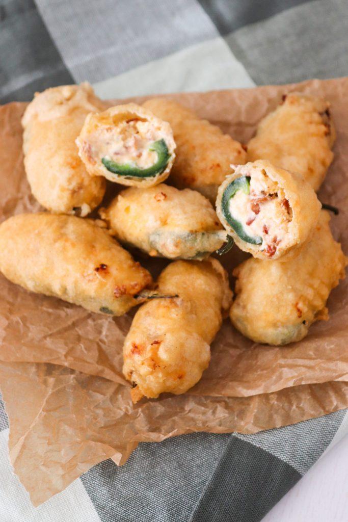 Jalapeño Poppers - Fyldte Jalapeños Med Flødeost, Cheddar Og Bacon