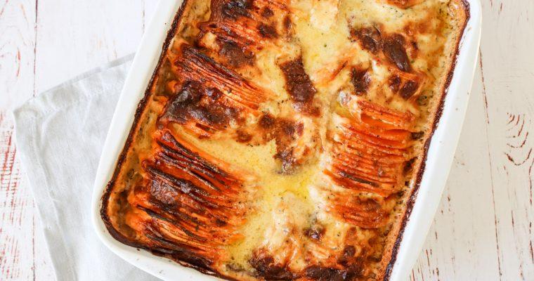Flødekartofler Med Søde Kartofler – Sweet Potato Bake