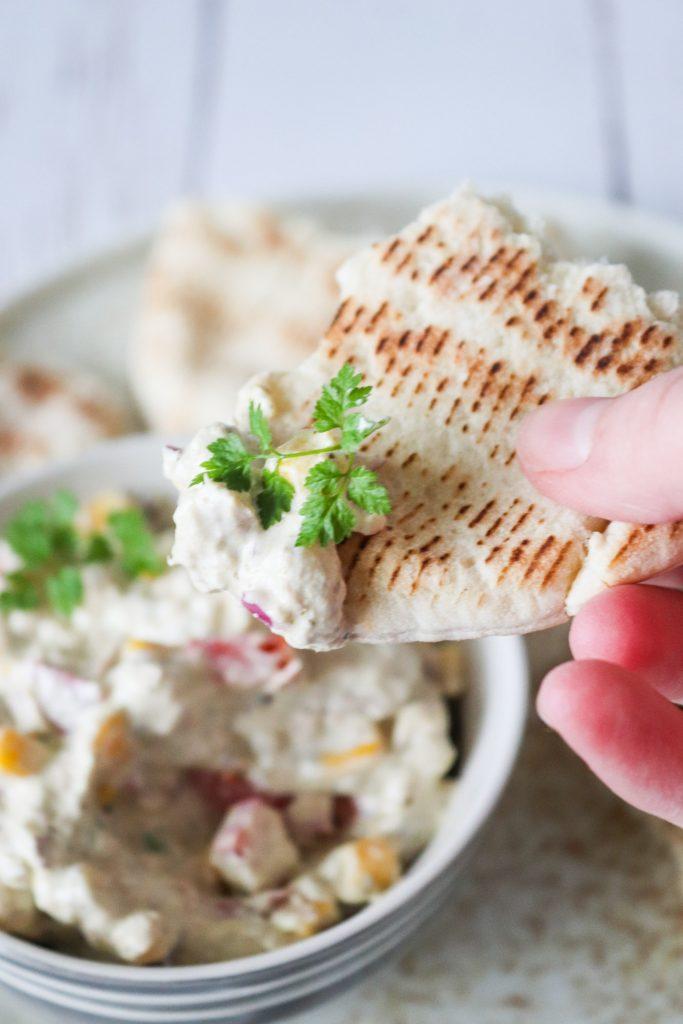 Lækker Tunsalat Med Edamamebønner, Pesto Og Andet Godt