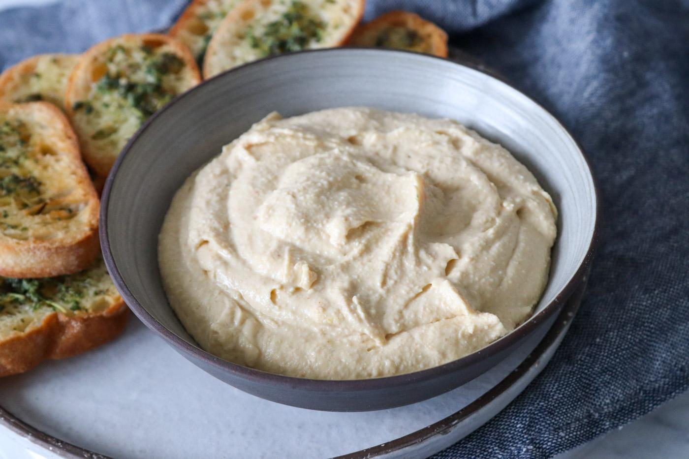 Hummuscreme Med Feta – Lækker Dip Til Brød Og Grøntsager