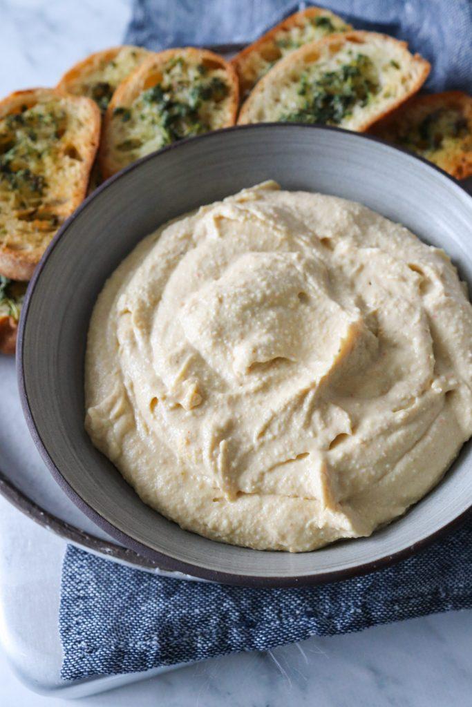 Hummuscreme Med Feta - Lækker Dip Til Brød Og Grøntsager