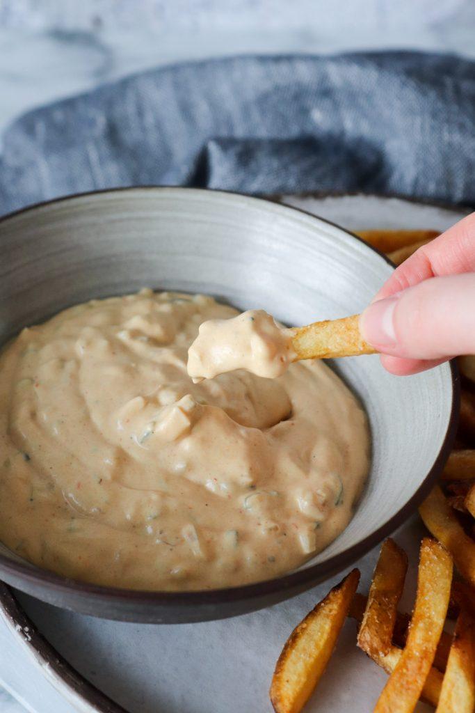 Big Mac Dip Til Fritter Og Chips - Lækker Dip Til Fritter Og Chips