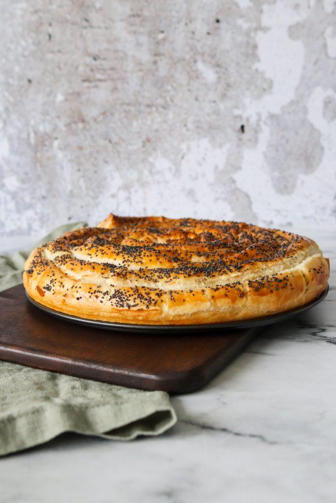 Butterdejssnegl Med Flødeost Og Hvidløg