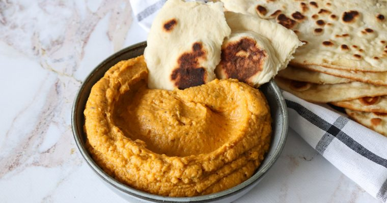 Hummus Med Søde kartofler – Hjemmelavet Hummus