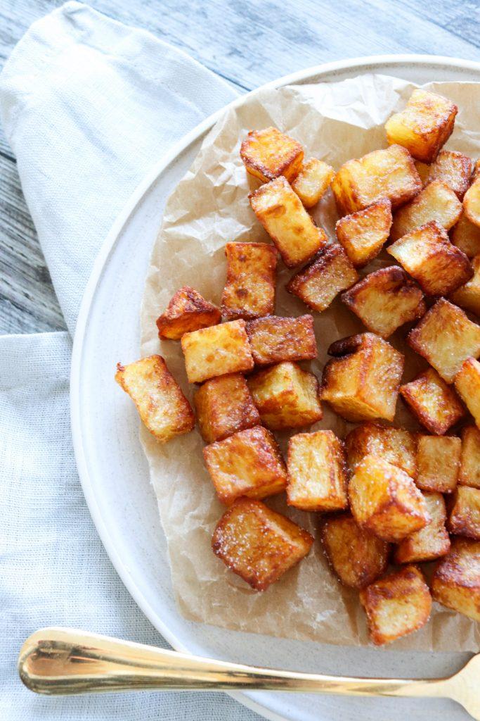 Sprøde Kartofler Stegt I Andefedt - De Bedste Pandestegte Kartofler