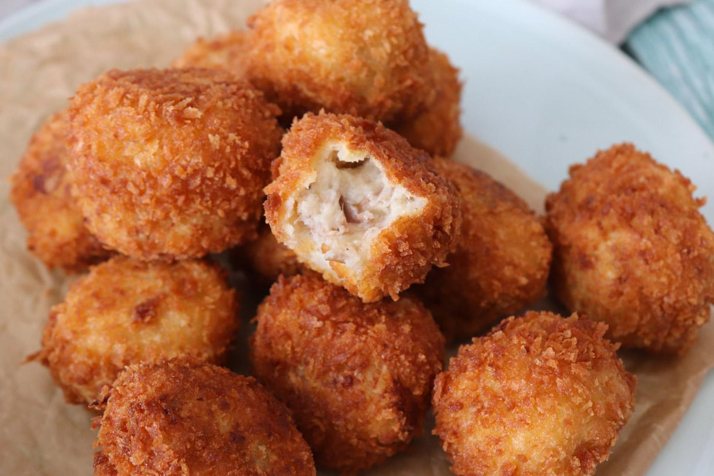 Kroketter Med Confiteret And – Kartoffelkroketter Med And