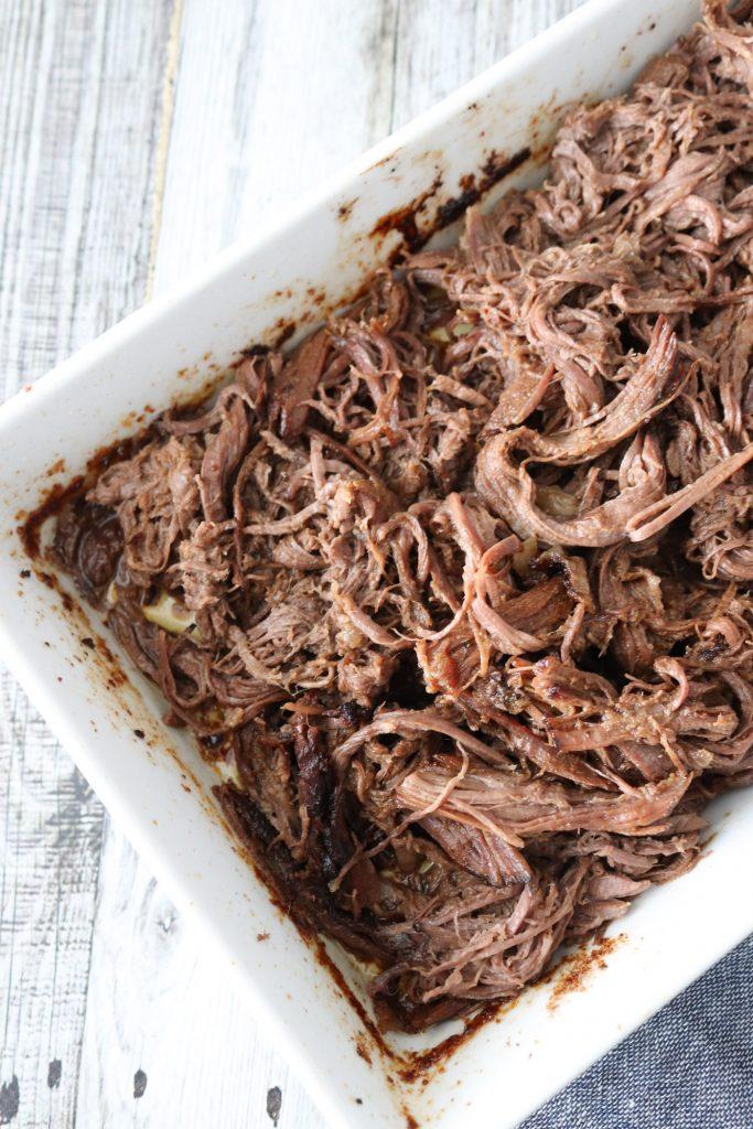 Pulled Beef - Opskrift På Pulled Beef Af Oksecuvette