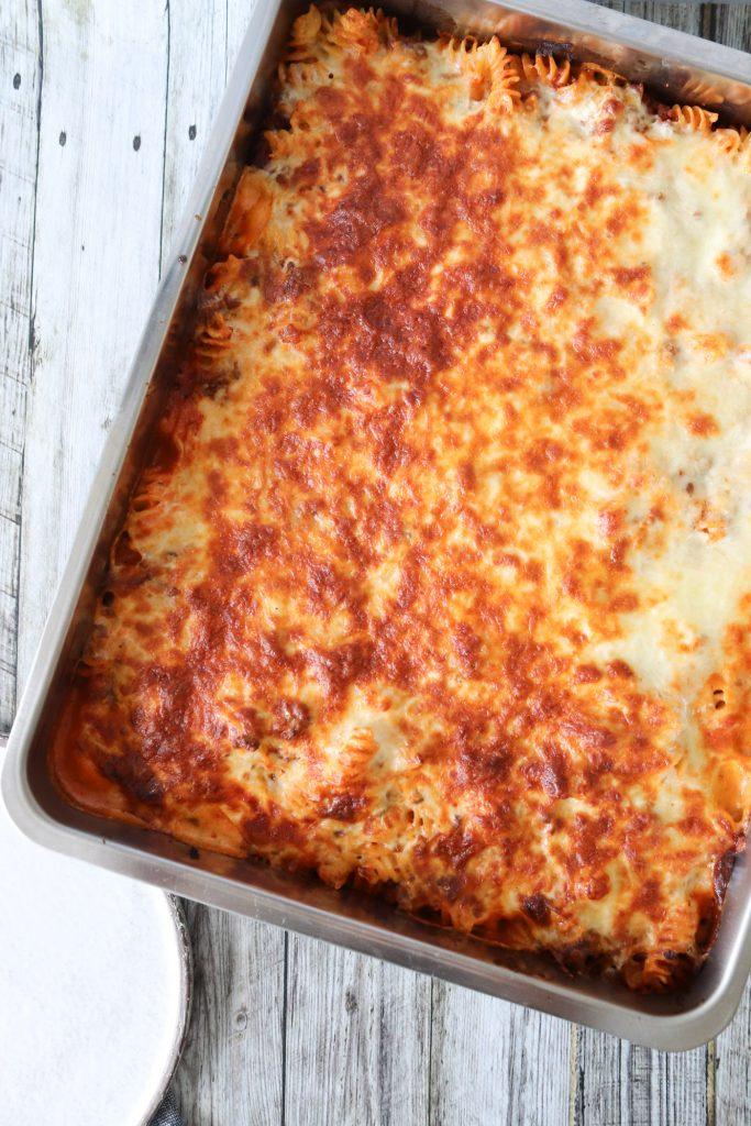 Opskrift På Lasagnette - Pasta Med Kødsauce Bagt Med Ost