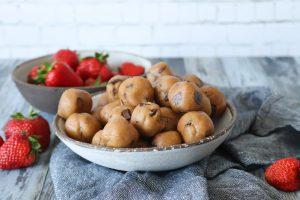 Cookie Dough Kugler Med Chokolade Og Peanut Butter