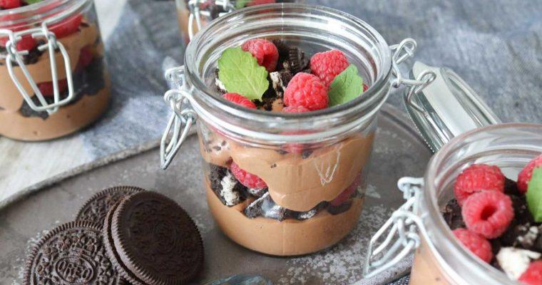 Baileys Chokolade Cheesecake Dessert I Glas