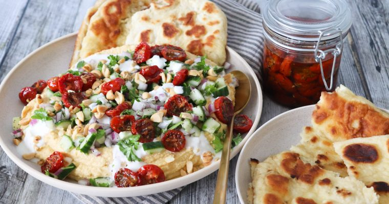 Hummus Dip – Dip Med Hummus Og Grøntsager
