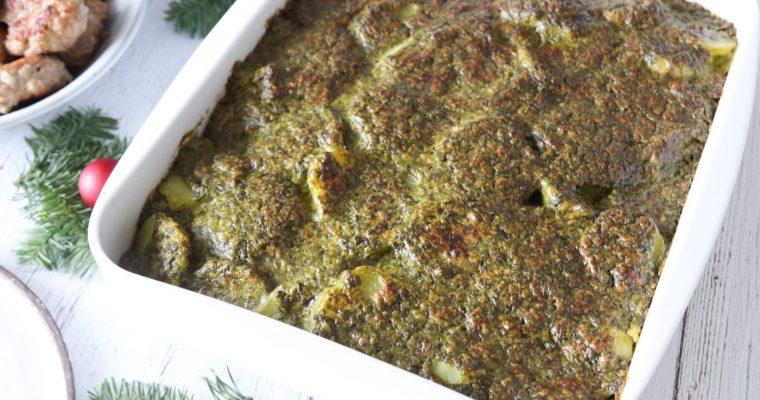Grønlangkål Flødekartofler