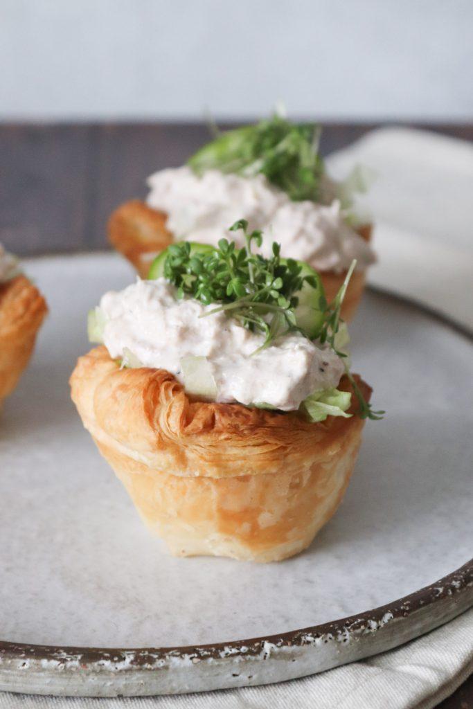 Tarteletter Med Tunmousse