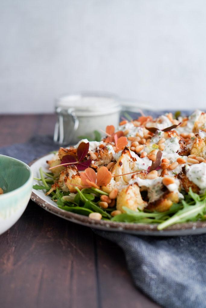 Salat Med Bagt Blomkål