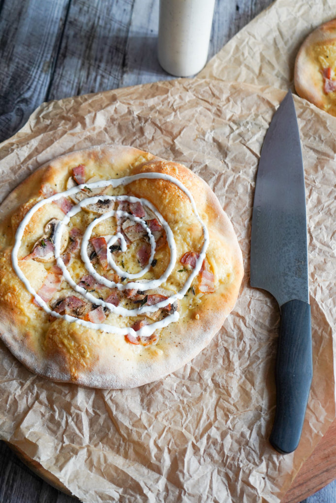 Pizza Med Vesterhavsost