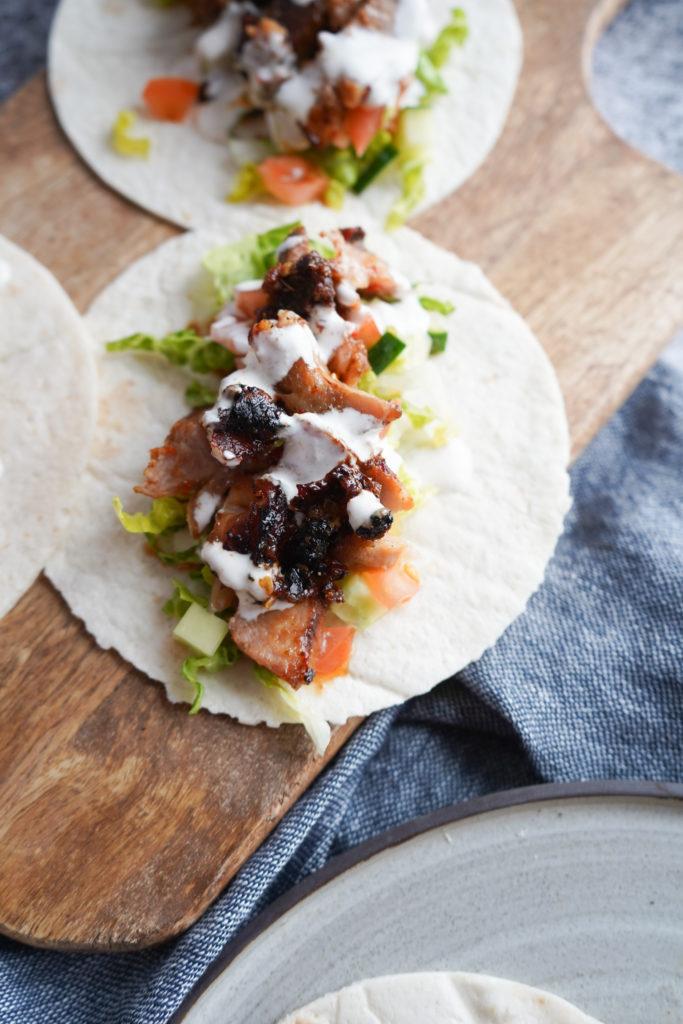 Taco Al Pastor Møder Kebabrullen