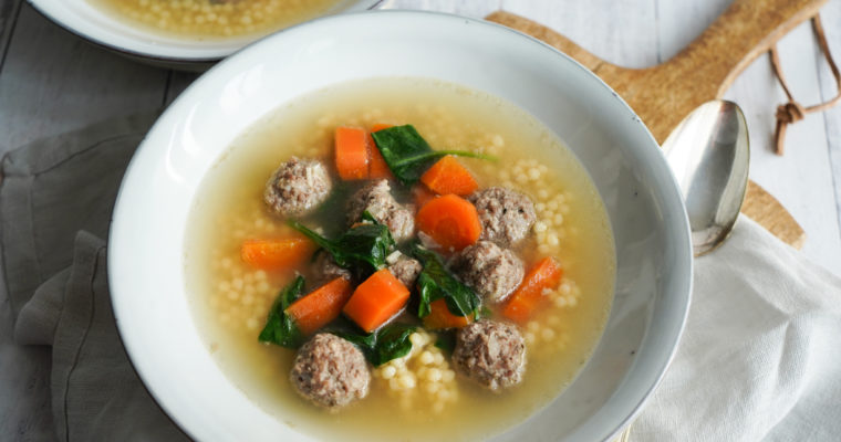 Italiensk Bryllupssuppe