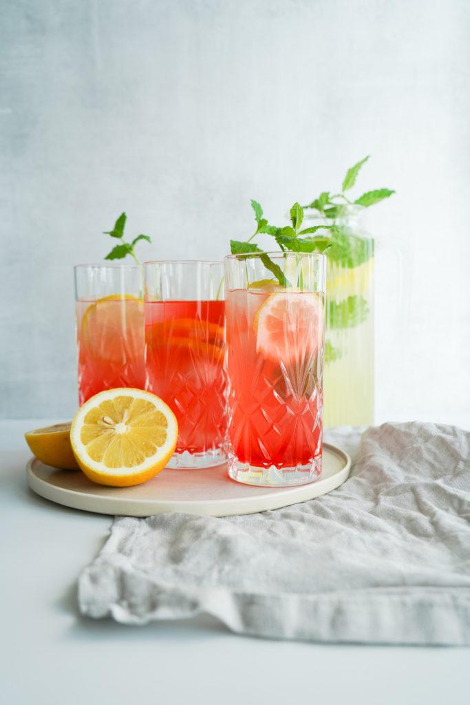 Sommerdrink Med Lemonade Og Vodka