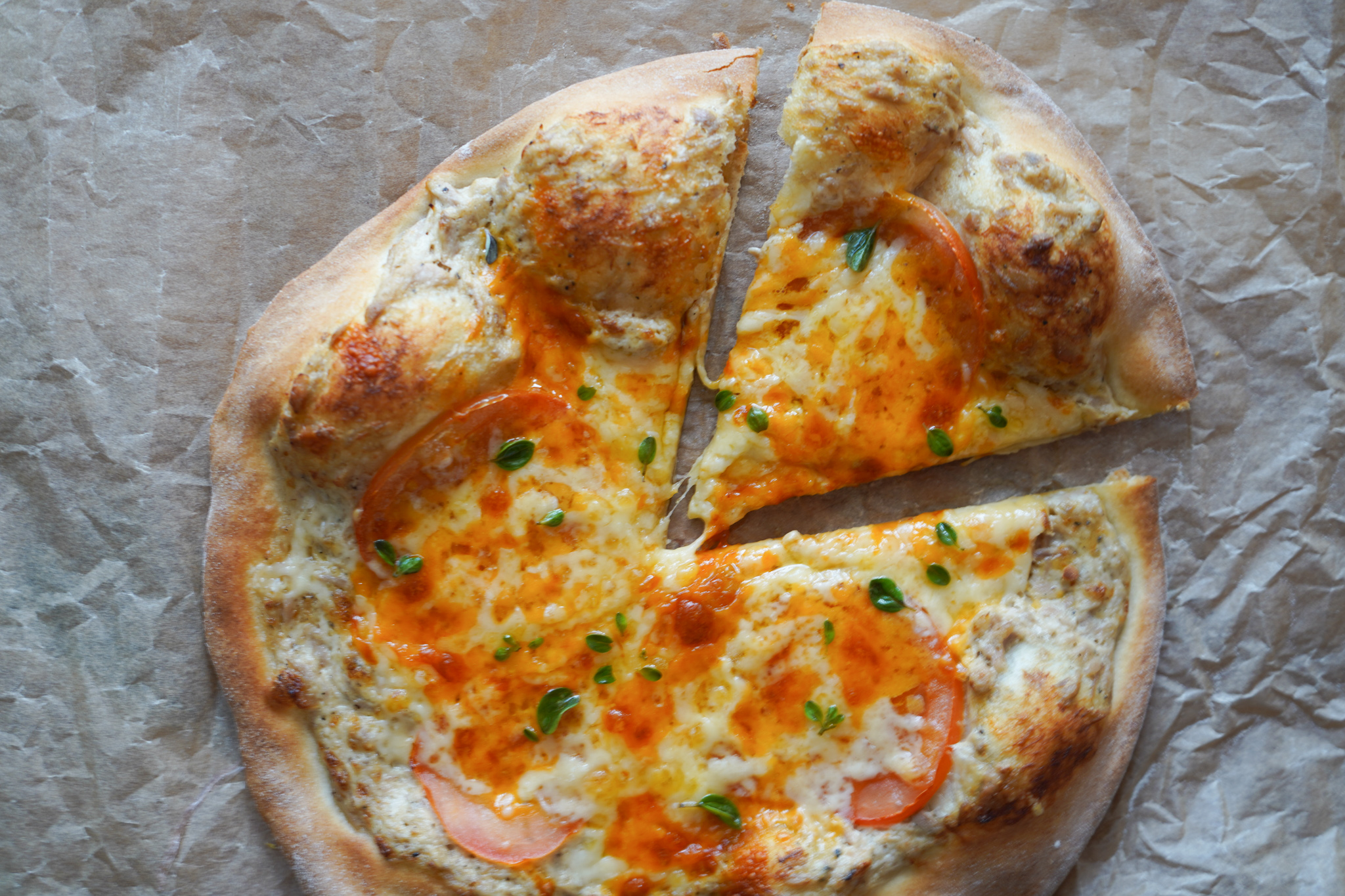 Tuna Melt Pizza