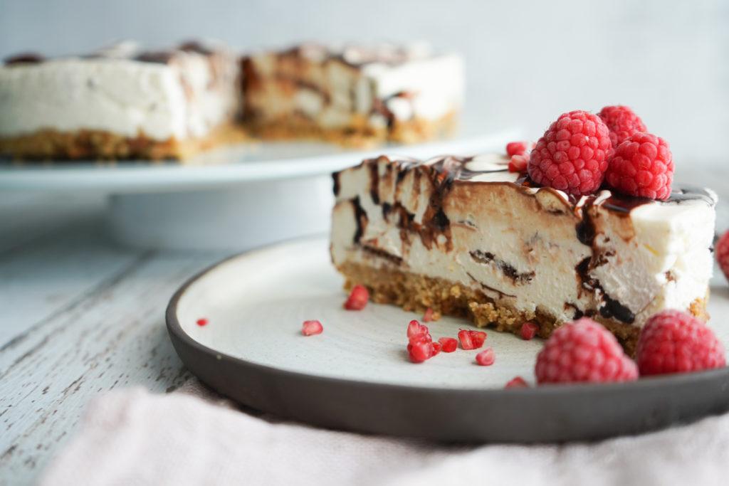 Cheesecake Med Mælkesnitte Og Chokolade
