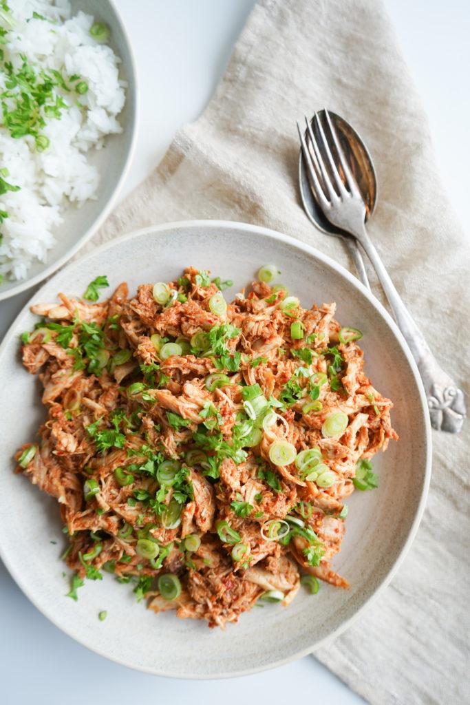 Pulled Kylling Med Asiatisk Twist