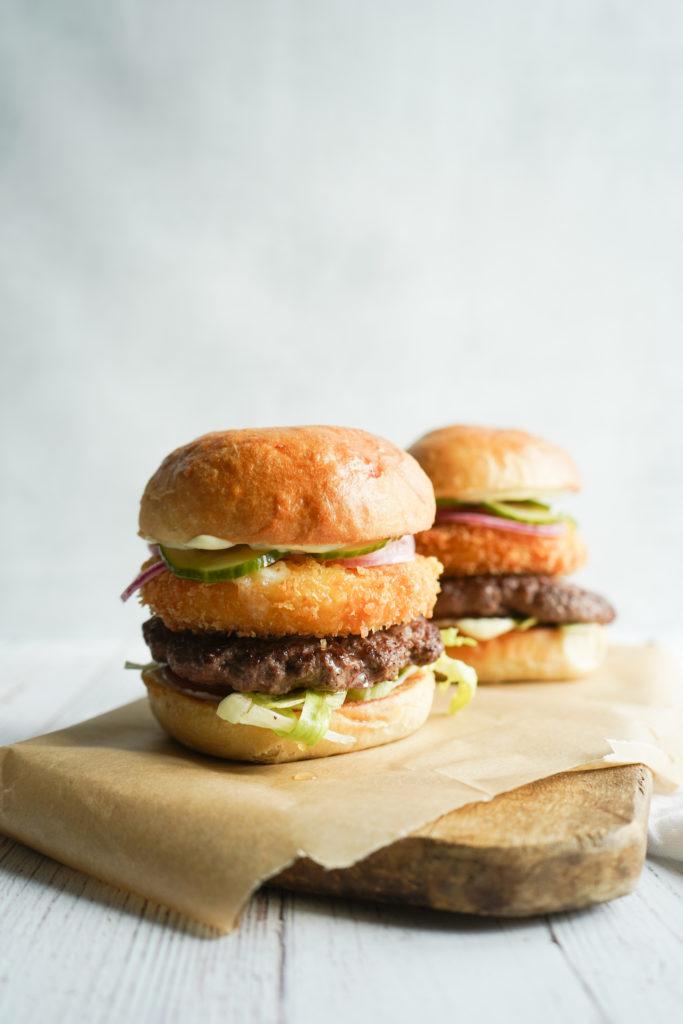 Friteret Havarti Burger