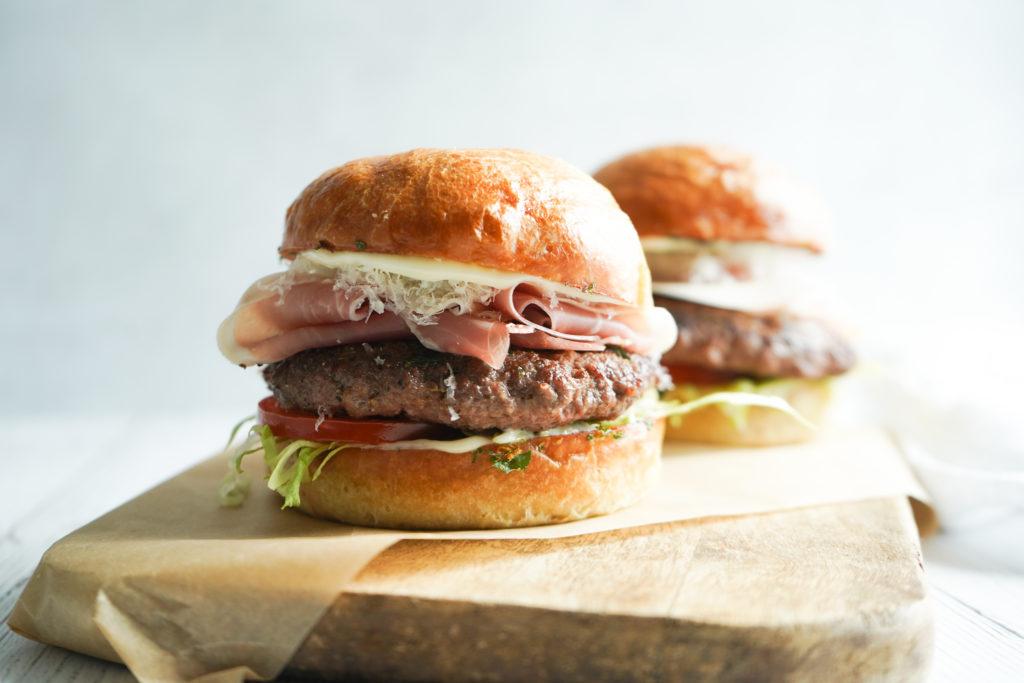 Italiensk Inspireret Burger