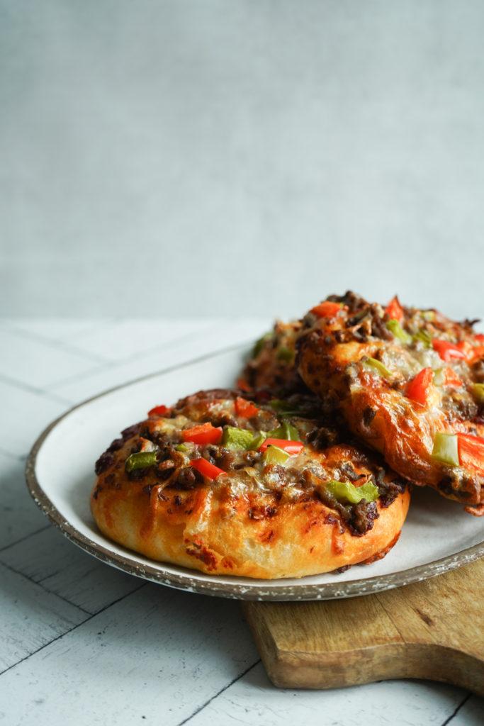 Pizzaboller Med Oksekød