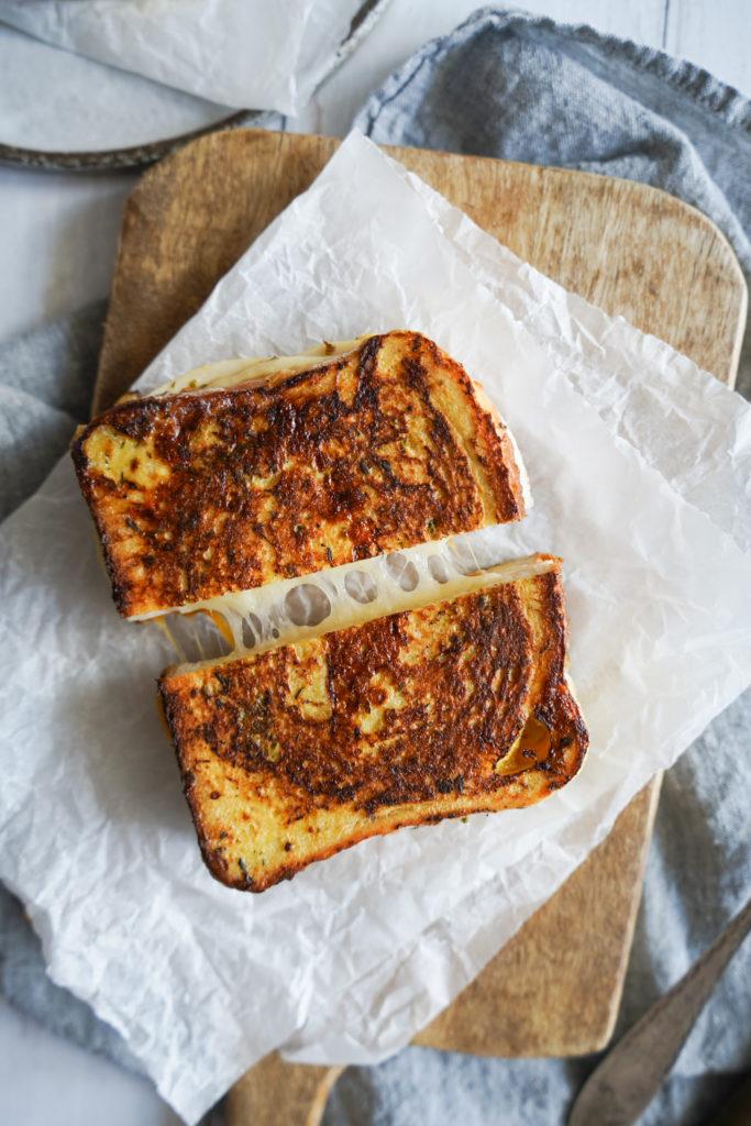 Saltet Arme riddere Toast