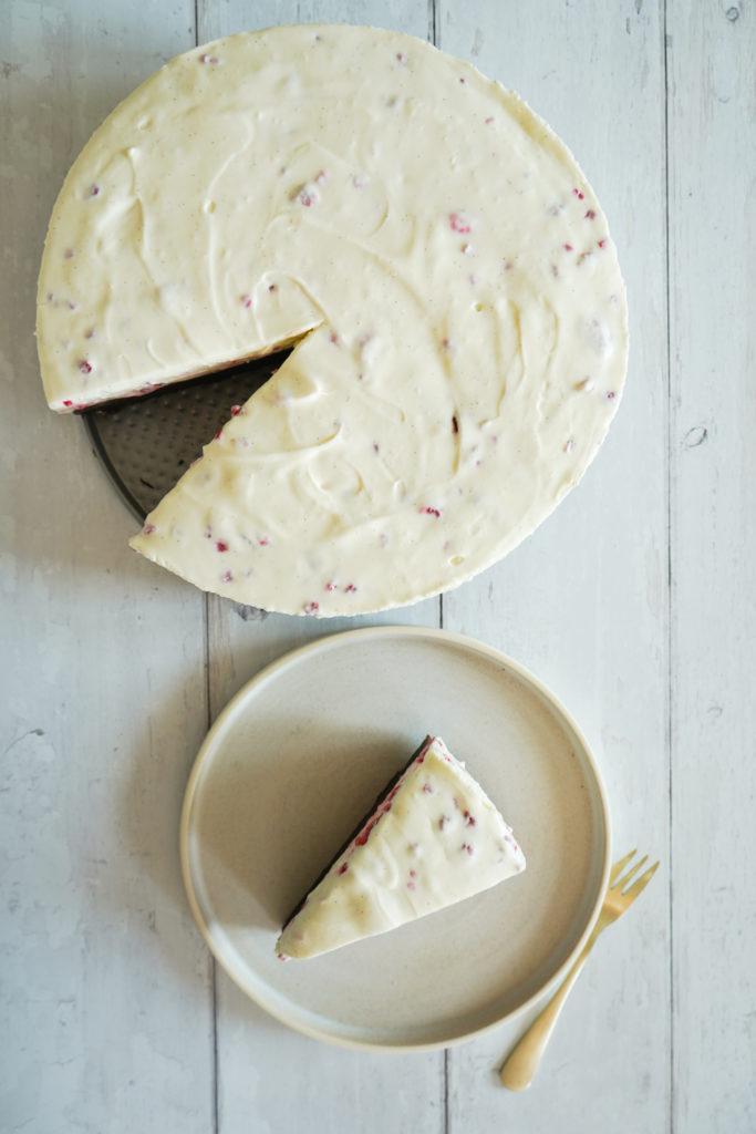 Cheesecake Med Browniebund