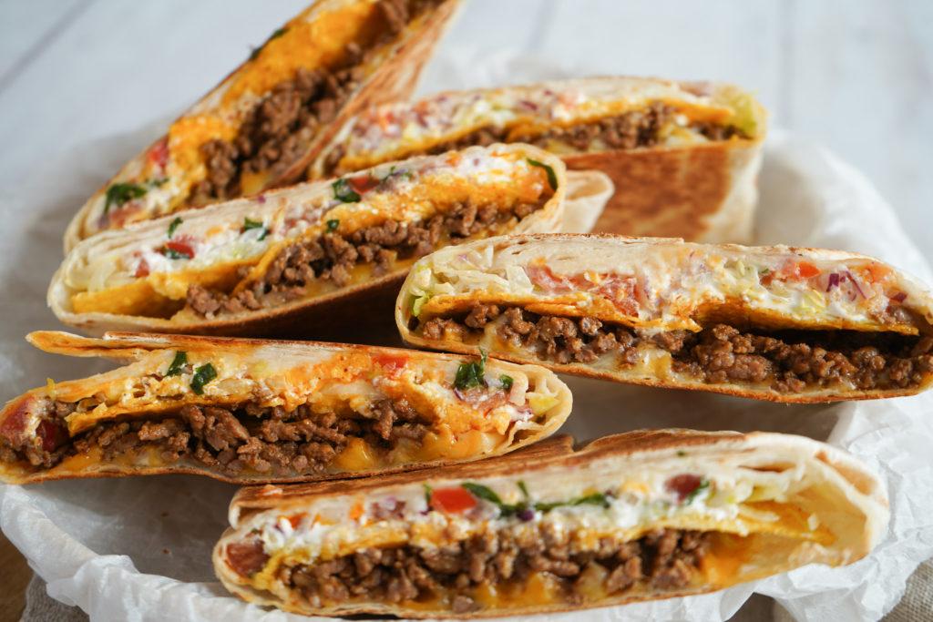 Taco Crunch Wrap